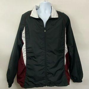 Men's BCG Wind Breaker Zippered Jacket Size L F-36
